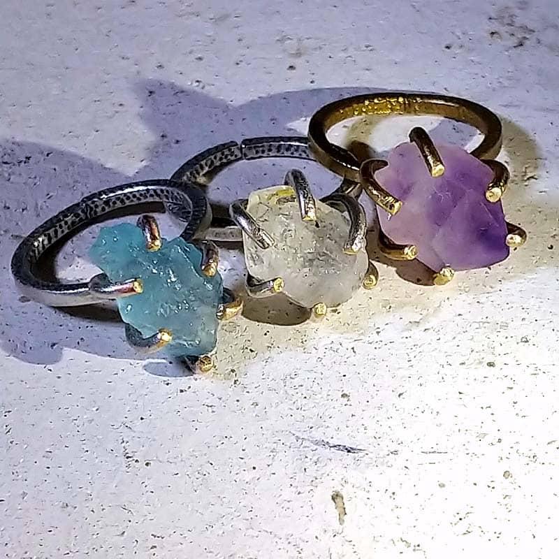 原石クロウリング3種